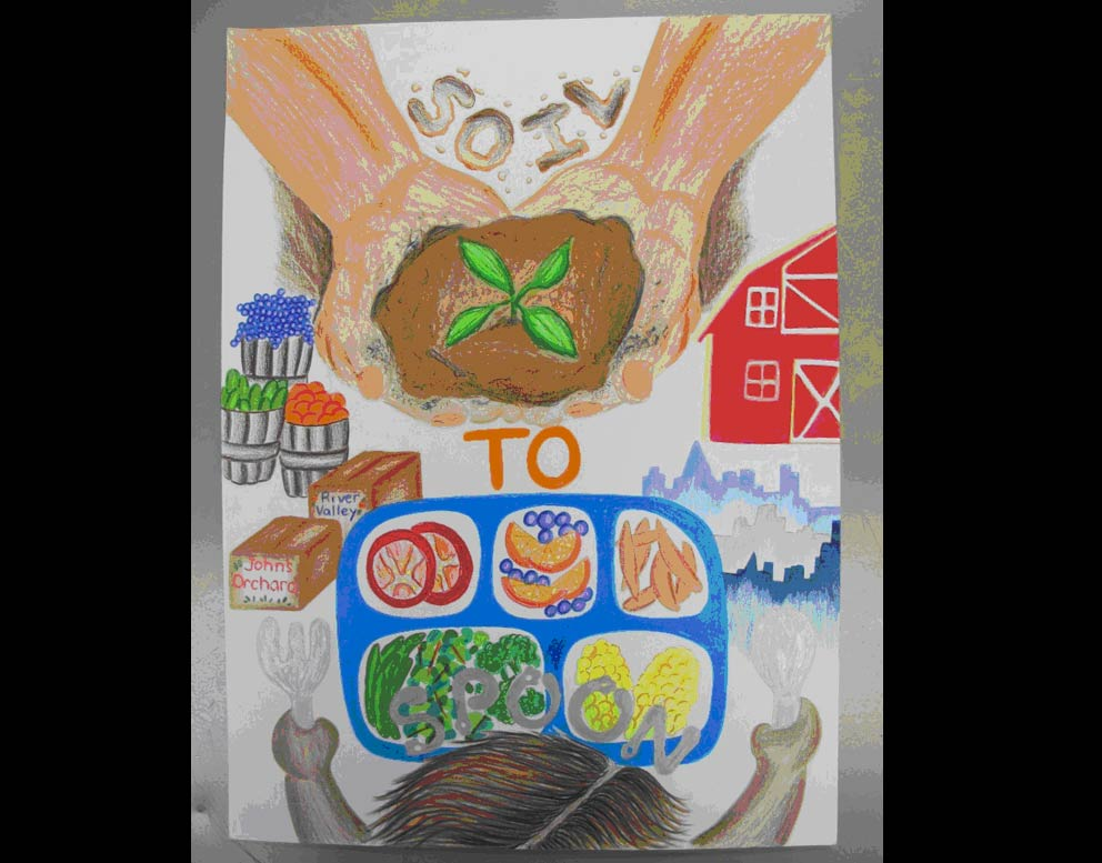 Vonn Arndt Local Poster Contest Winner Grade 1 Kodiak Christian
